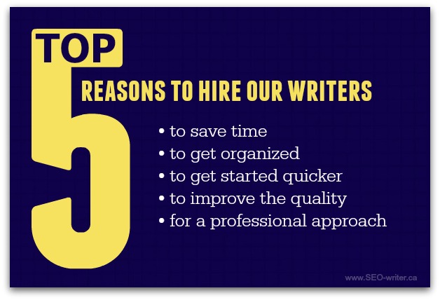 Why hire a freelance writer