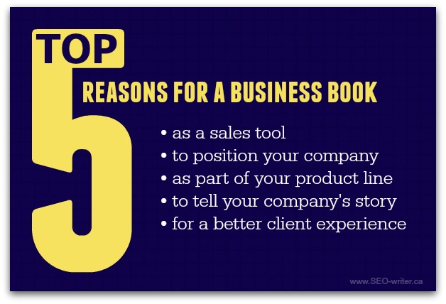 Why write a business book