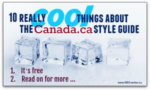 10 really cool things about the Canada dot ca style guide