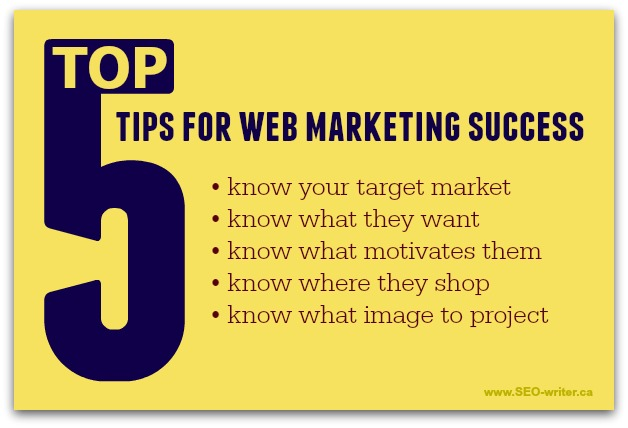 Website marketing tips