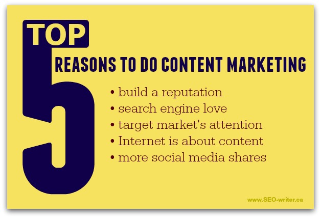 Why do content marketing
