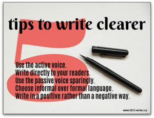 Plain language writing tips for Canadians