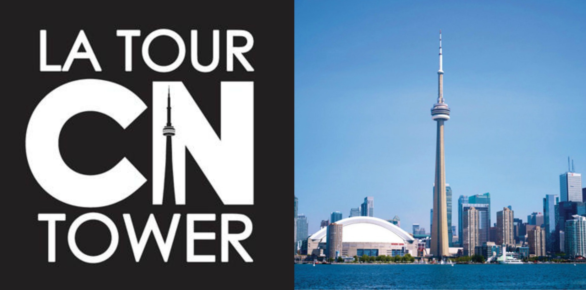 Logo of the CN Tower in Toronto