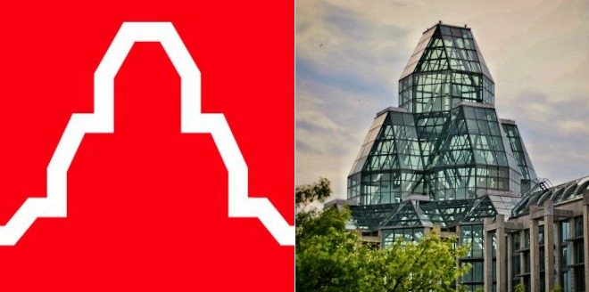 Logo of the National Gallery of Canada in Ottawa