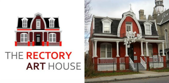 Logo of the Rectory Art House in Ottawa