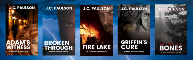 Adam and Grace book covers