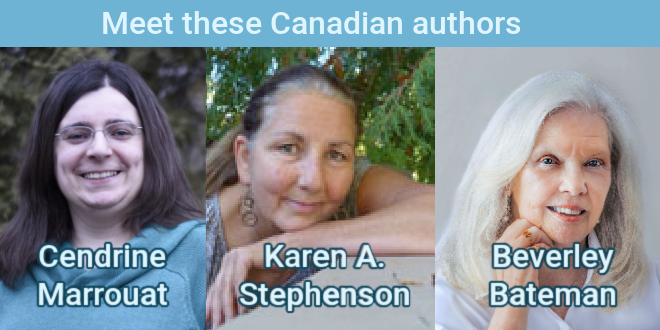 Canadian authors for Canada Day
